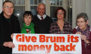 Lisa & Martin and Labour's Team in Moseley & King's Heath say Give Brum its cash!