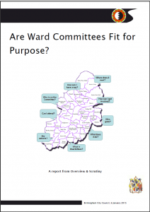 Ward Committees screengrab